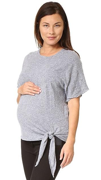 MONROW Maternity Oversized Tee