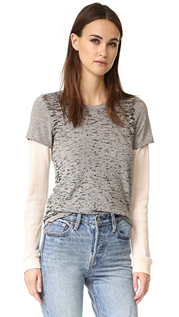 MONROW Double Layer Thermal Tee
