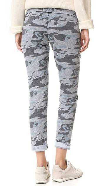 MONROW Slim Camo Sweatpants