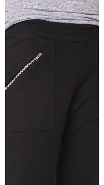 MONROW Sporty Zip Sweatpants