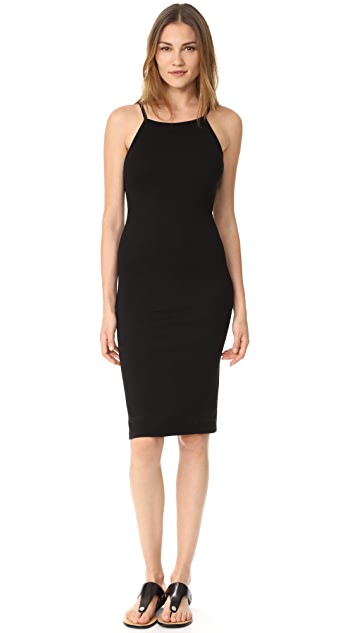 MONROW Square Neck Tank Dress