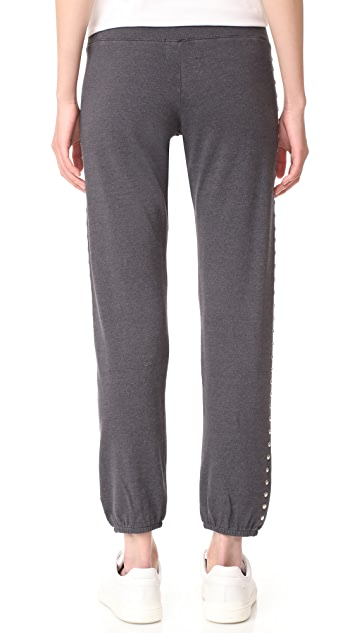 MONROW Vintage Sweats with Studs