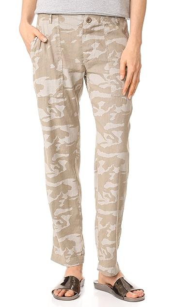 MONROW Straight Leg Pants