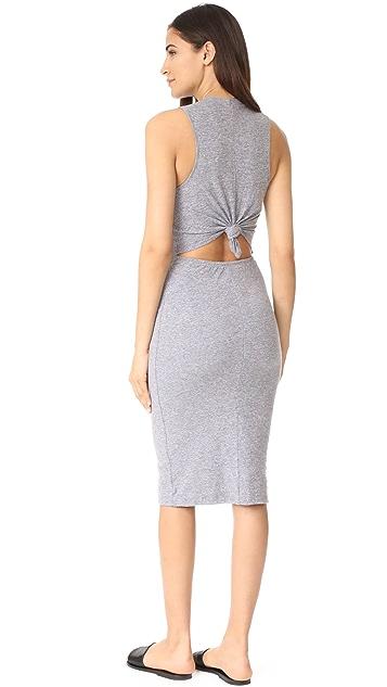 MONROW Knot Back Dress