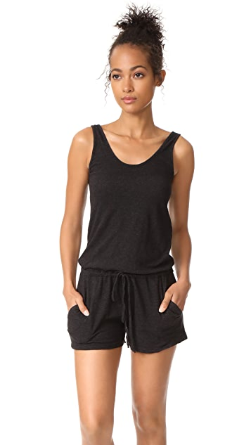 MONROW Tank Romper with Pockets