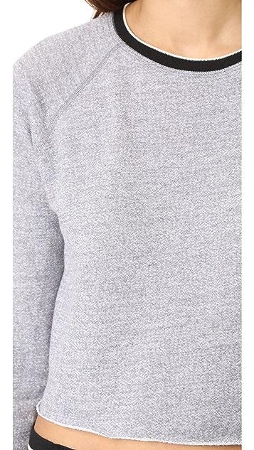 MONROW Sporty Raglan Sweatshirt