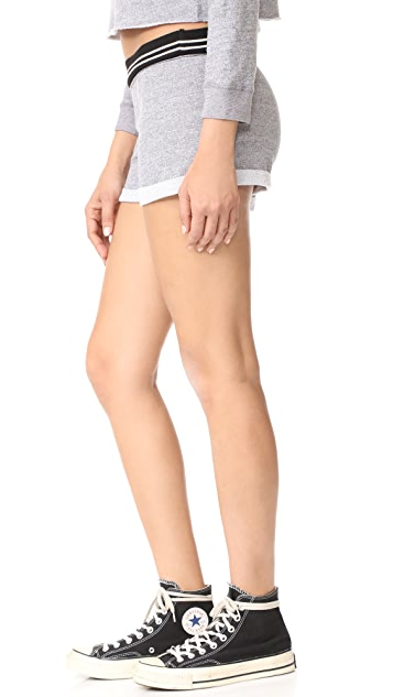 MONROW Vintage Cutoff Shorts
