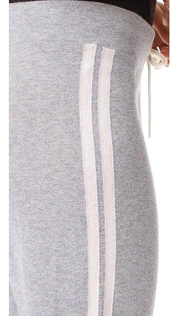 MONROW Bone Side Stripe Sweats