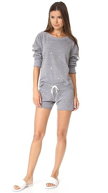 MONROW Sweatshirt with Stardust