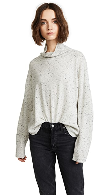 MONROW Cashmere Turtleneck Sweater