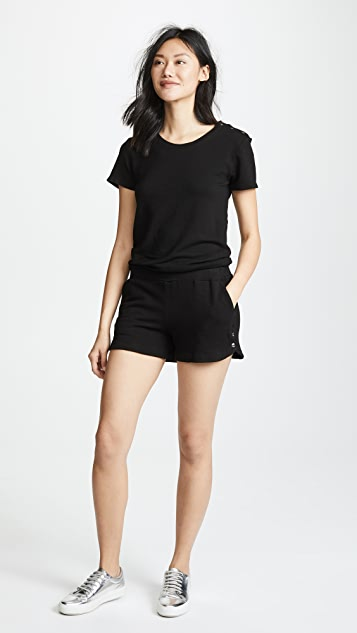 MONROW Supersoft Short Sleeve Romper