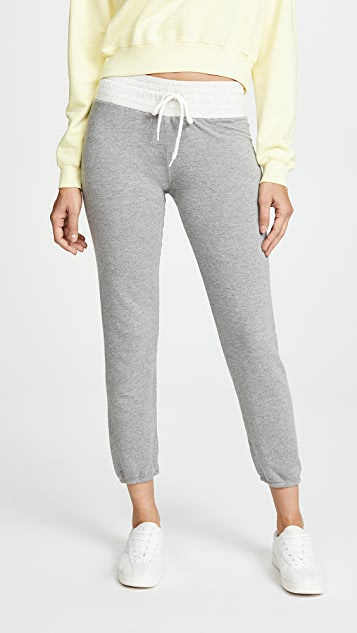 MONROW Two Tone Vintage Sweatpants