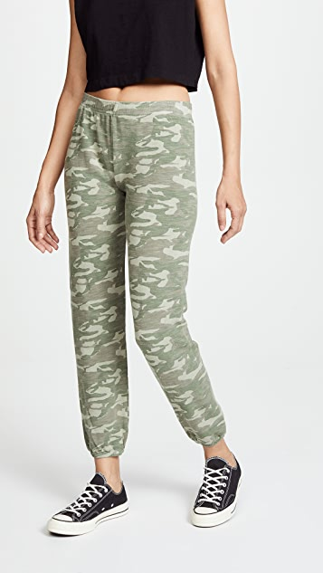 Tonal Camo Sweatpants by Monrow