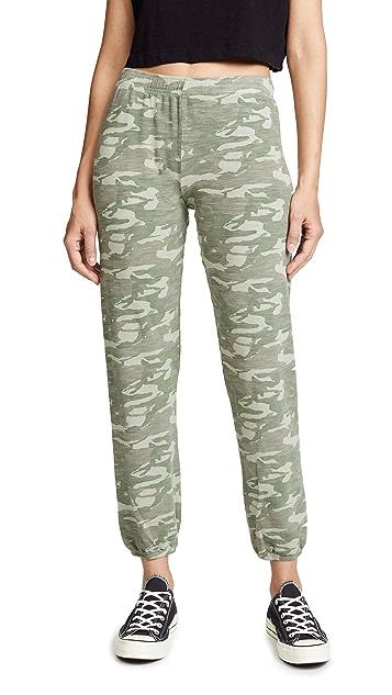 MONROW Tonal Camo Sweatpants