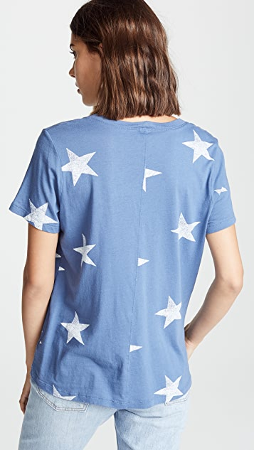 MONROW Oversized Star Tee