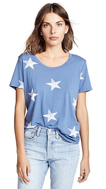 MONROW Oversized Star Tee