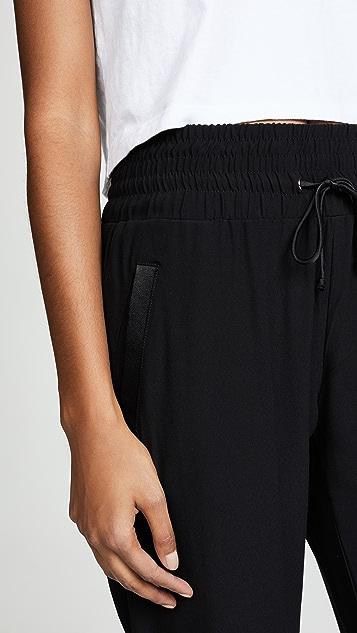 MONROW High Waisted Cuff Pants