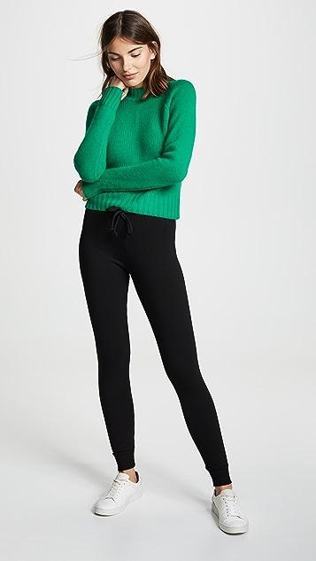 MONROW Supersoft Fleece Skinny Sweatpants