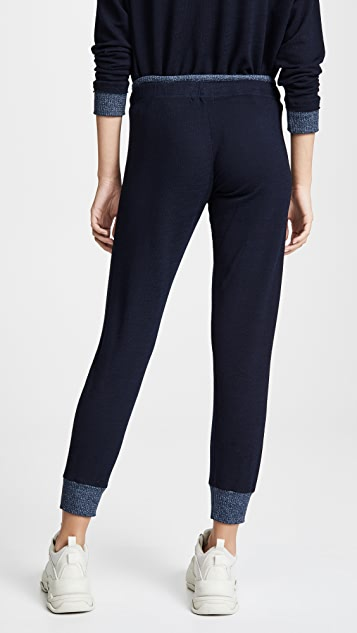MONROW Supersoft Thermal Trimmed Sweats