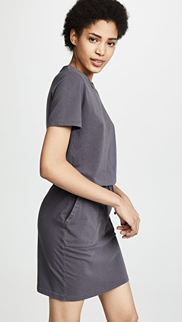 MONROW Mini Slit Dress