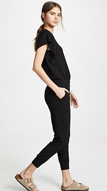 MONROW Supersoft Cap Sleeve Jumpsuit