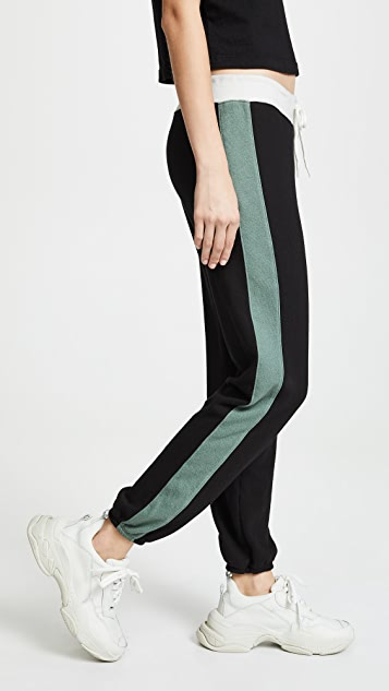 MONROW Colorblock Sweatpants