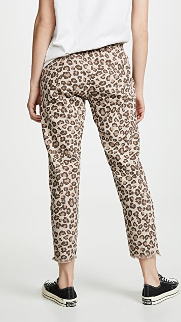 MONROW Leopard Pants with Patch