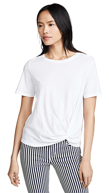 MONROW Top with Side Twist