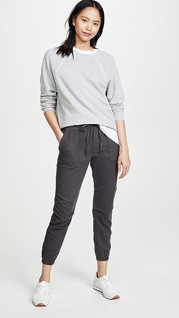 MONROW 贴袋运动裤