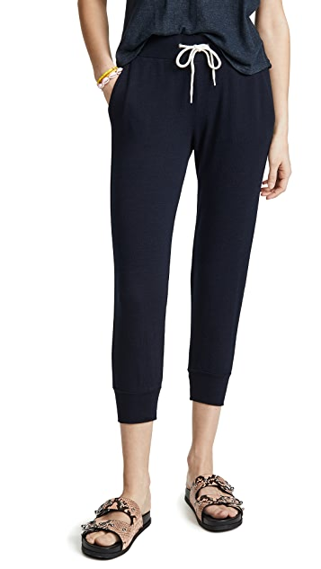 MONROW Cropped Sporty Sweatpants