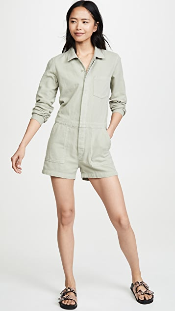 MONROW Long Sleeve Romper