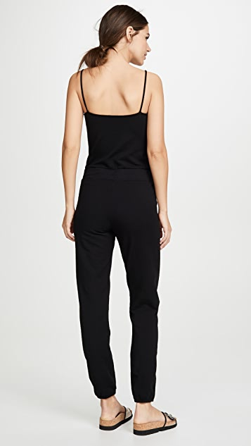 MONROW Strappy Tank Jumpsuit