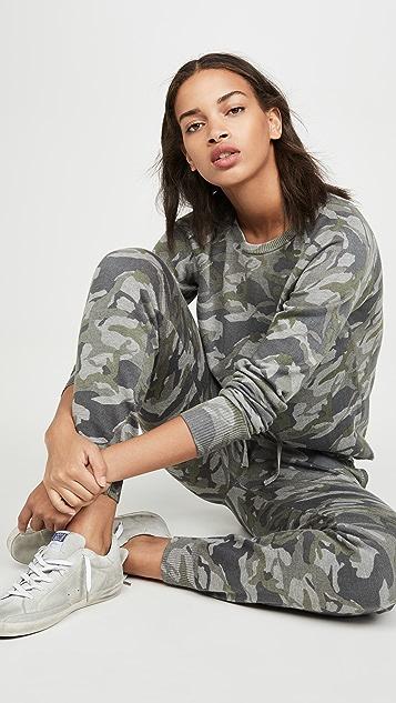 MONROW Grey Camo Sweats