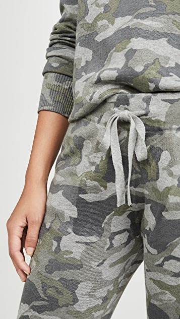 MONROW Grey Camo Sweats