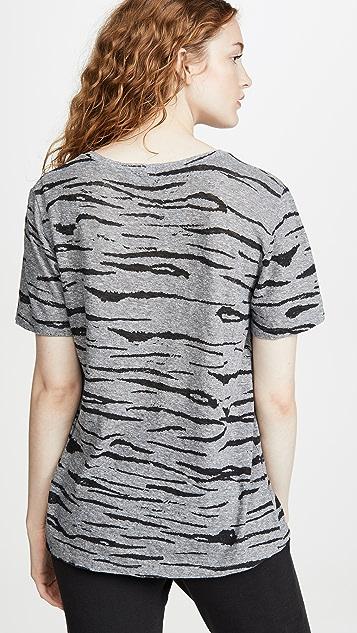 MONROW 超大老虎 T 恤