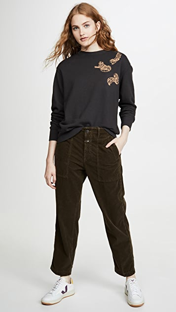 MONROW 老虎运动衫