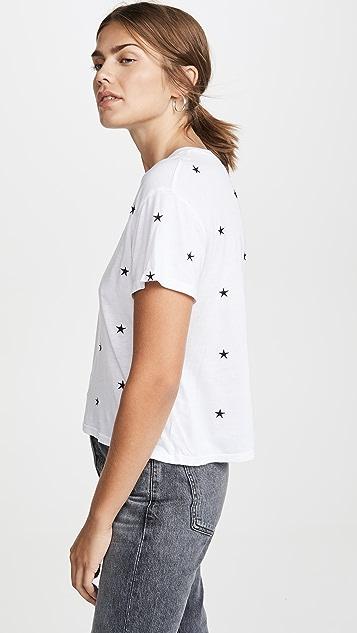MONROW 整版星星 T 恤