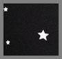 黑色/白星星