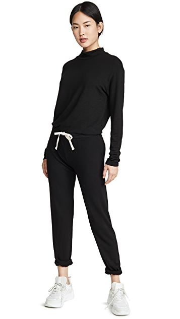 MONROW Supersoft Cowl Cuff Jumpsuit