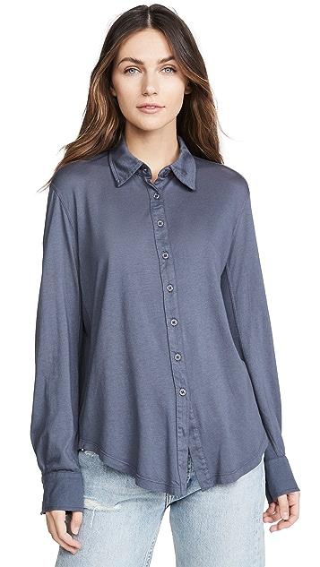 MONROW Jersey Basic Shirt