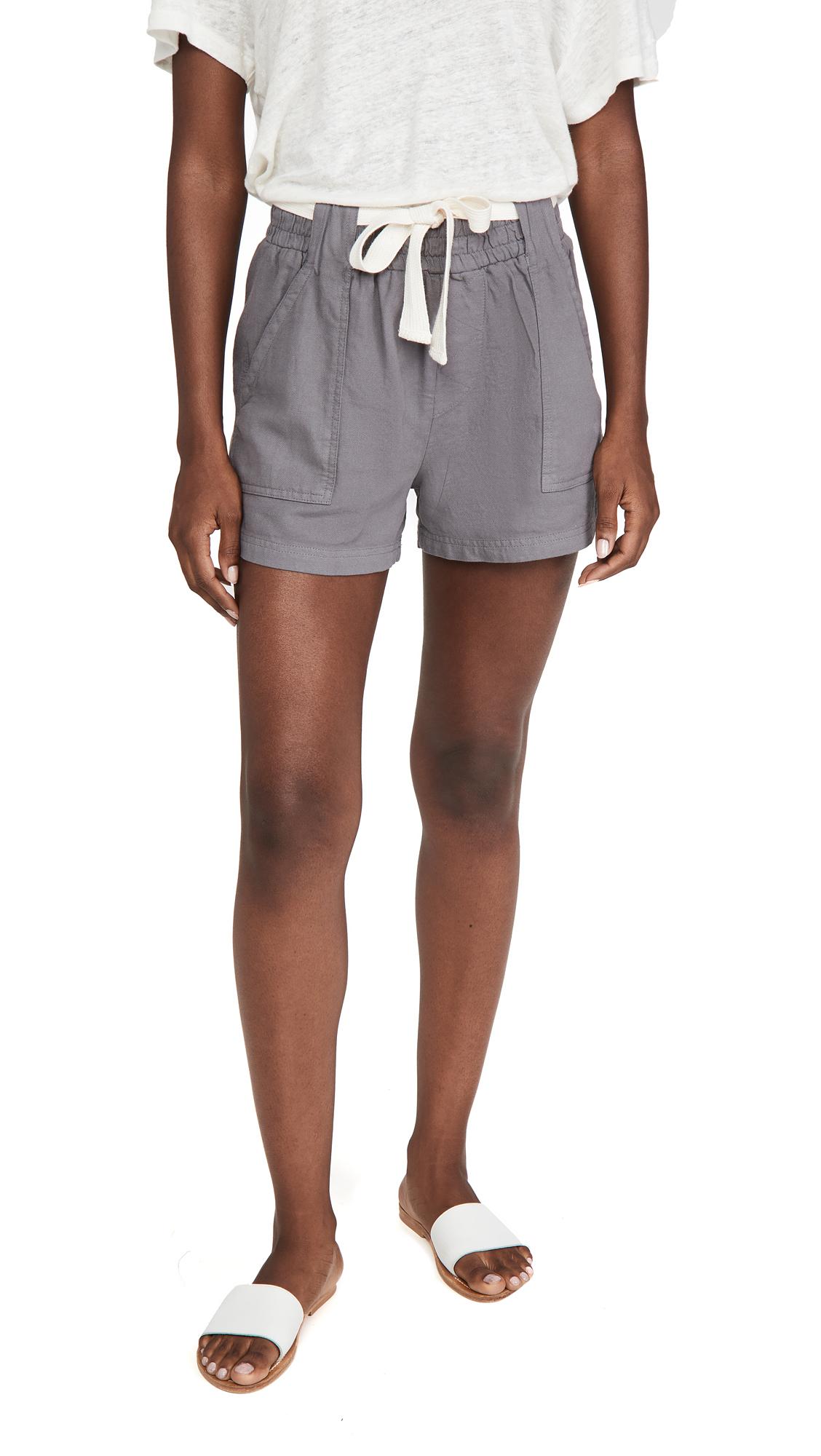 MONROW Twill Shorts