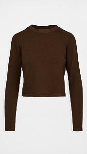 MONROW Supersoft Fleece Lounge Sweatshirt