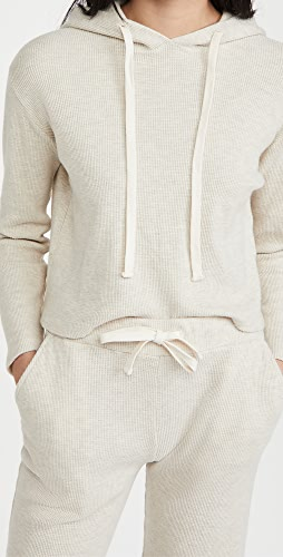 MONROW - 起绒蜂窝布套头衫