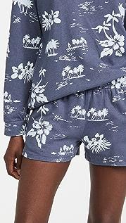 MONROW Hawaiian Ex-Boyfriend Shorts