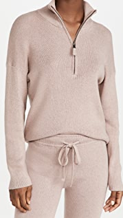 MONROW Half Zip Sweater
