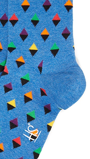 HS Mini Diamond Socks