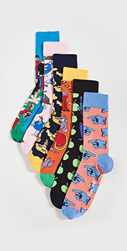 Happy Socks - Beatles LP Collector's Box Socks