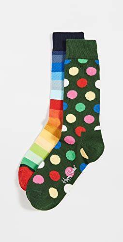 Happy Socks - Classic Holiday Socks Gift Set