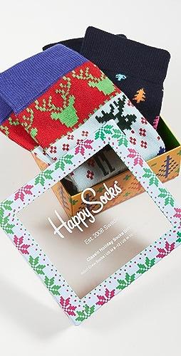 Happy Socks - Fair Isle Socks Gift Set