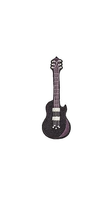 Huda Al Nuaimi Electric Guitar Pin